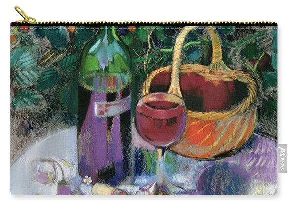 Last Of The Summer Wine Pastel On Paper Carry-all Pouch