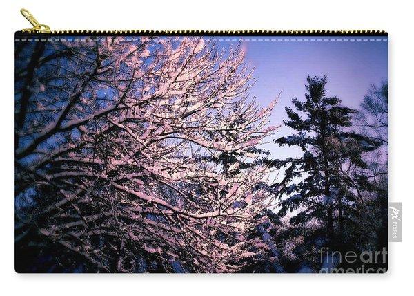 Last Peek Of Winter Sun Carry-all Pouch