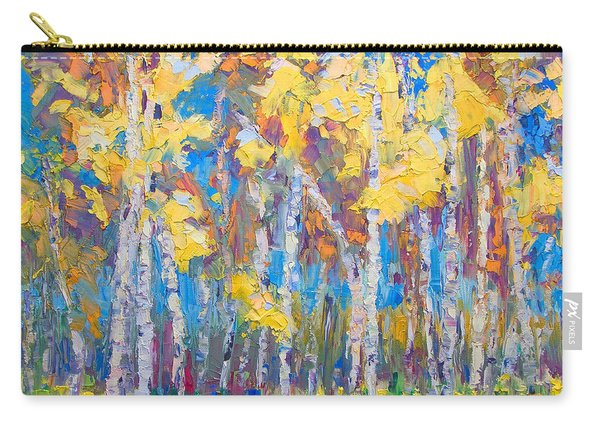 Carry-all Pouch featuring the painting Last Stand by Talya Johnson