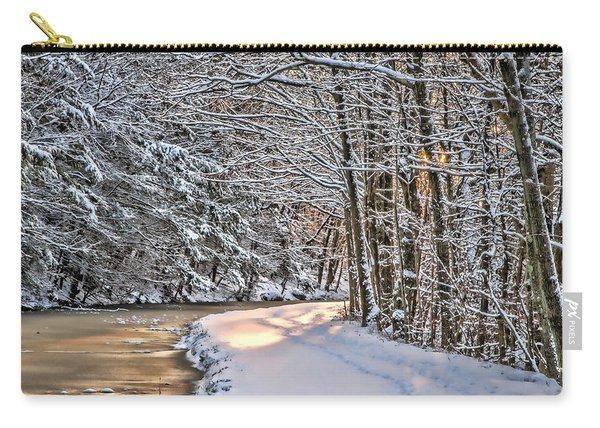 Late Afternoon In The Snow Carry-all Pouch