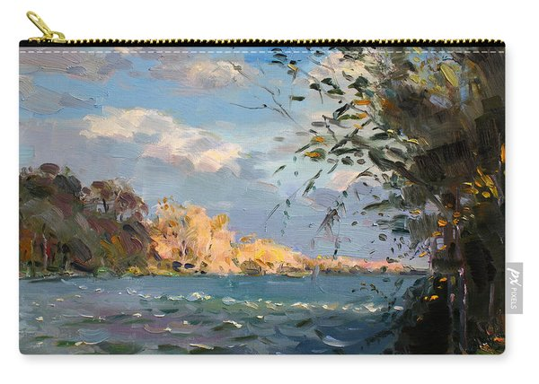 Late Afternoon On Goat Island Carry-all Pouch