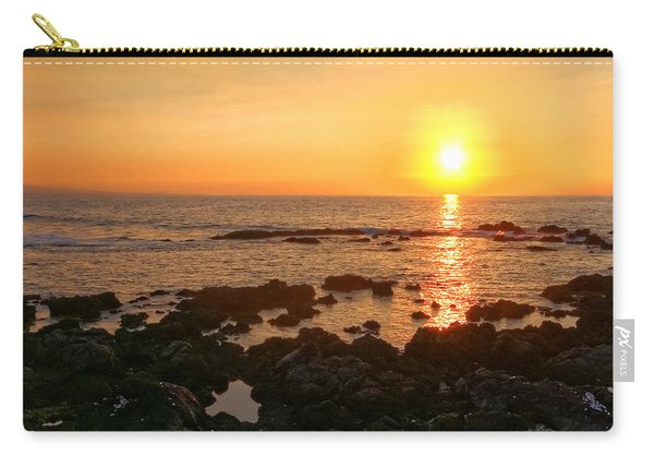 Lava Rock Beach Carry-all Pouch