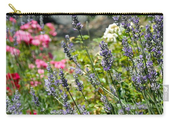 Lavender In Bloom Carry-all Pouch