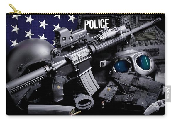 Law Enforcement Tactical Police Carry-all Pouch