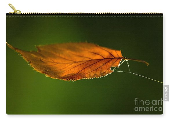 Leaf On Spiderwebstring Carry-all Pouch