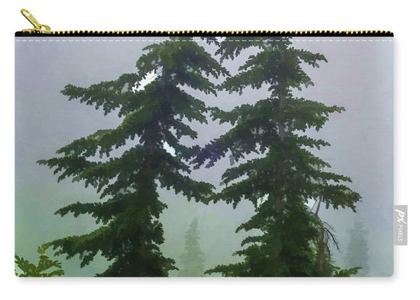 Leaning Trees Carry-all Pouch