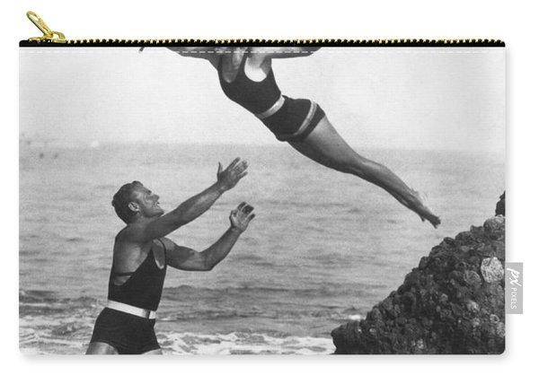 Leap Into Life Guard's Arms Carry-all Pouch