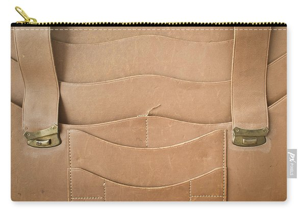 Leather Satchel Carry-all Pouch