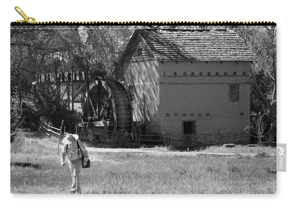 Carry-all Pouch featuring the photograph Leaving The Mill by Mary Lee Dereske