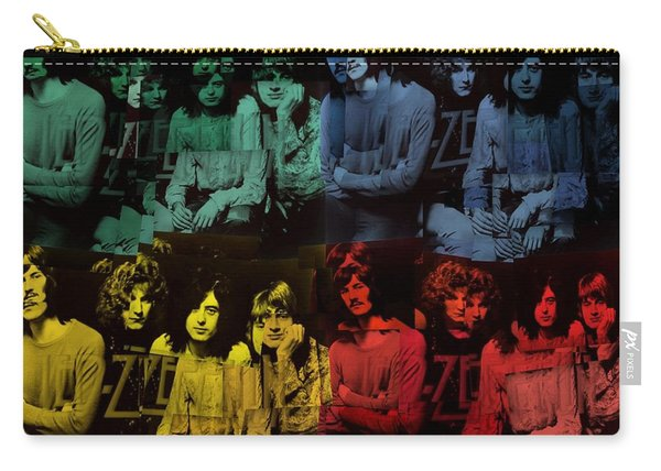 Led Zeppelin Pop Art Collage Carry-all Pouch