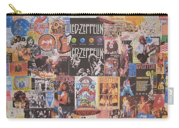Led Zeppelin Years Collage Carry-all Pouch