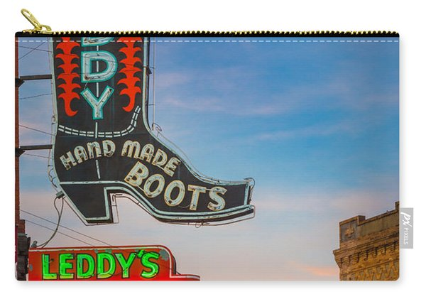 Leddy Boots Carry-all Pouch