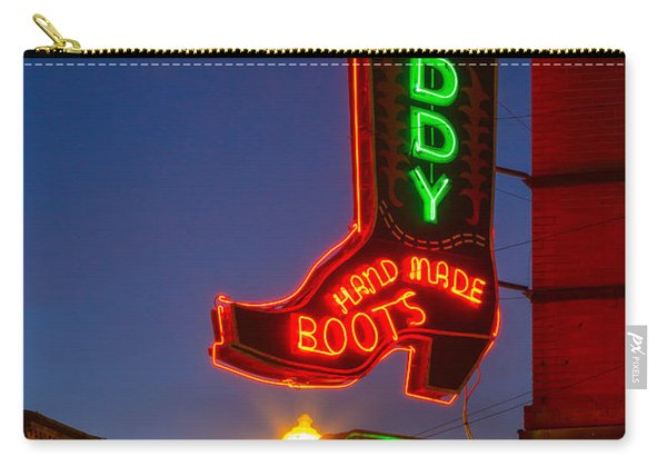 Leddy Boots Neon Carry-all Pouch