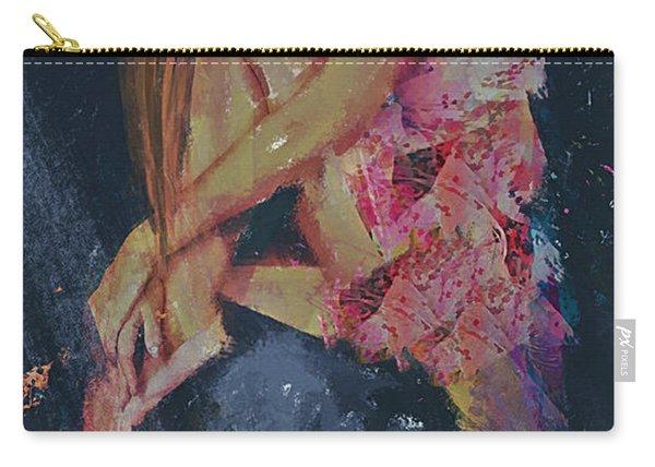 Ledges Emotive Portrait Carry-all Pouch