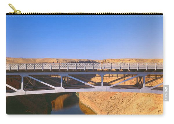 Lees Ferry In Marble Canyon, Navajo Carry-all Pouch