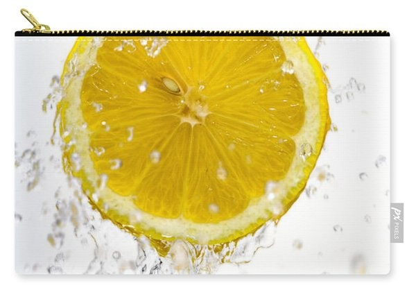 Lemon Splash Carry-all Pouch