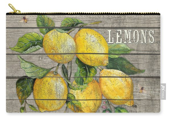 Lemons-jp2679 Carry-all Pouch