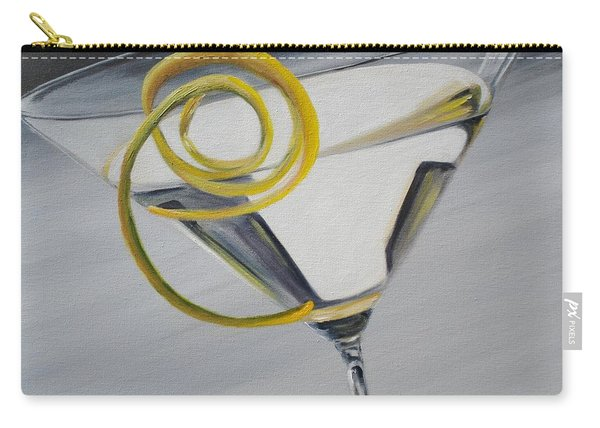 Lemontini Carry-all Pouch