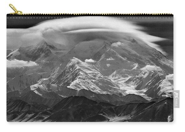 101366-lenticular Cloudcap Over Mt. Mckinley Carry-all Pouch
