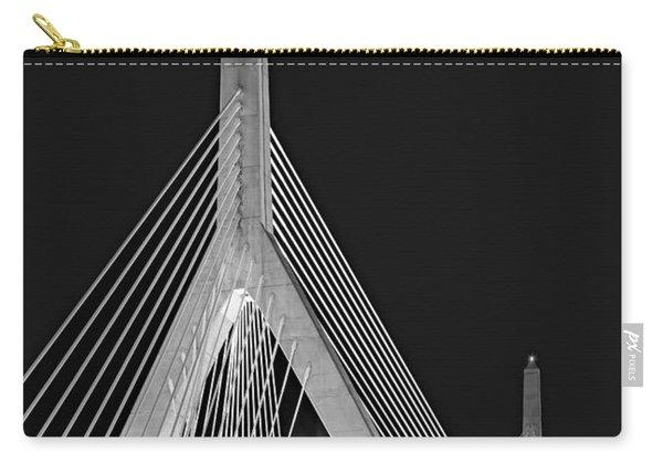 Leonard P. Zakim Bunker Hill Memorial Bridge Bw II Carry-all Pouch