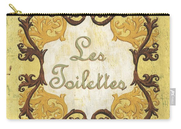Les Toilettes Carry-all Pouch