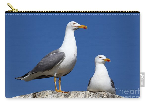 Lesser Black-backed Gulls Carry-all Pouch
