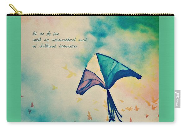 Let Me Fly Free Carry-all Pouch