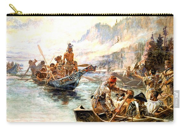 Lewis And Clark On The Lower Columbia  Carry-all Pouch