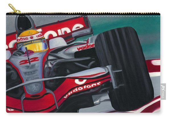 Lewis Hamilton F1 World Champion 2008 Carry-all Pouch