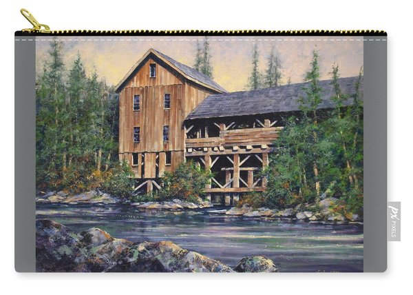 Lewisville Grist Mill Afternoon Carry-all Pouch