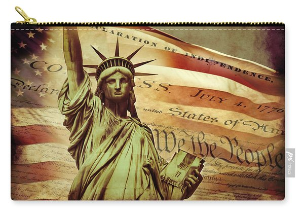 Declaration Of Independence Carry-all Pouch