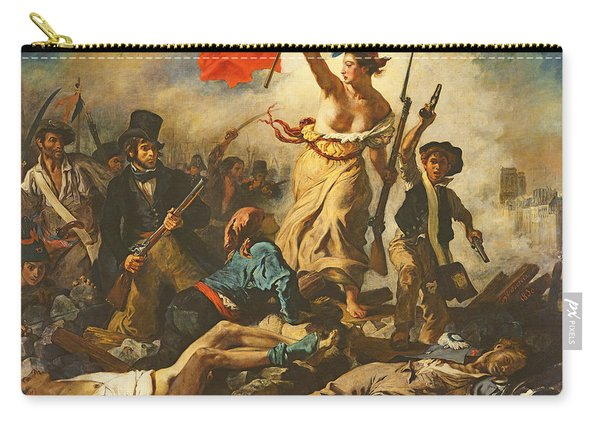 Liberty Leading The People, 28 July 1830 Carry-all Pouch