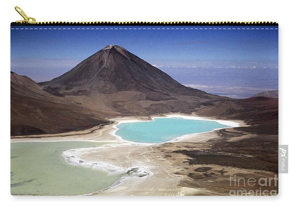 Licancabur Volcano And Laguna Verde Carry-all Pouch