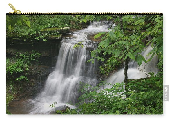 Lichen Falls Ozark National Forest Carry-all Pouch