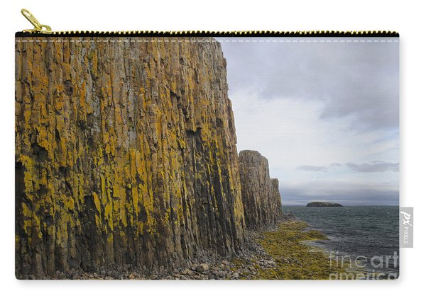 Lichened Basalt Columns, Iceland Carry-all Pouch