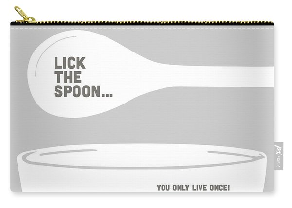 Lick The Spoon And Bowl Carry-all Pouch