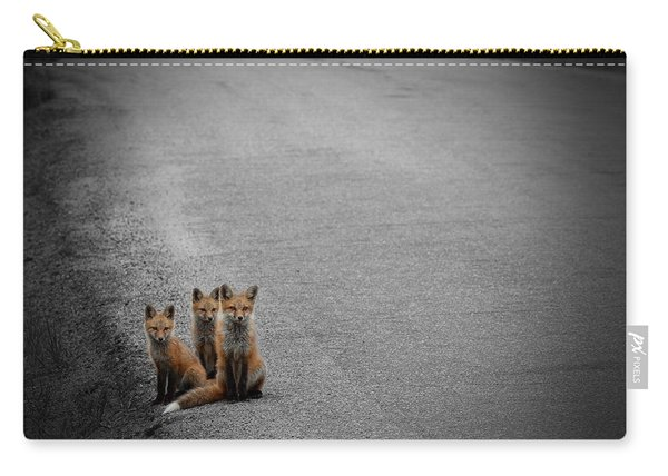 Life Is An Unknown Highway Carry-all Pouch