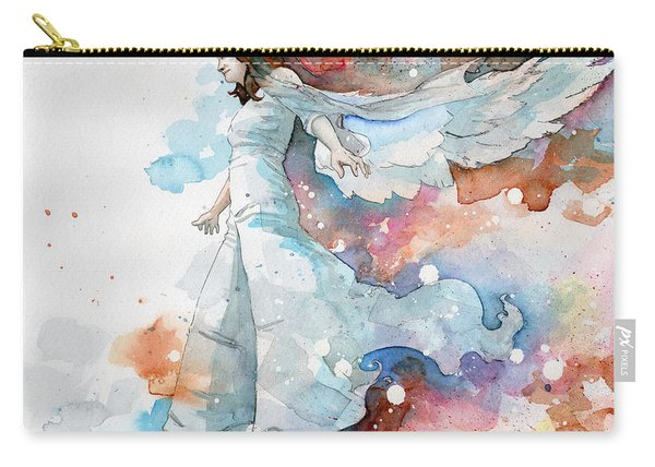 Life The Universe And Everything Carry-all Pouch