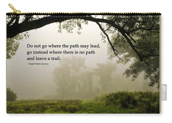 Life's Path Inspirational Art Carry-all Pouch