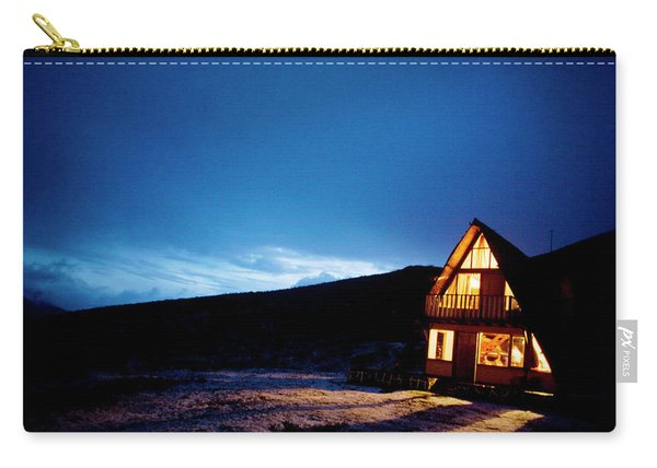 Light From A Tourist Lodge Carry-all Pouch