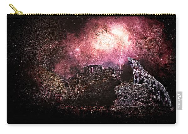 Light Of The Maya Carry-all Pouch