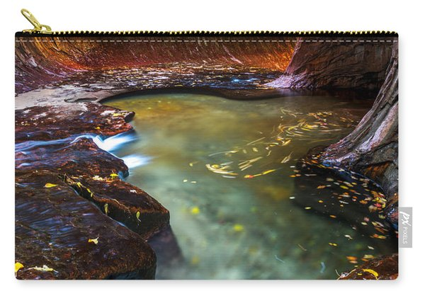 Carry-all Pouch featuring the photograph Light Passage by Dustin  LeFevre