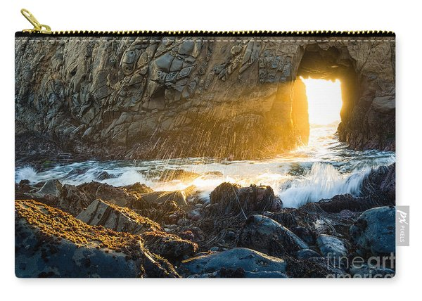 Light The Way - Arch Rock In Pfeiffer Beach In Big Sur. Carry-all Pouch