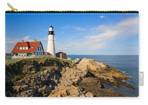 Lighthouse In The Sun Carry-all Pouch