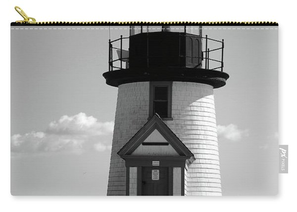 Lighthouse On Nantucket Bw Carry-all Pouch