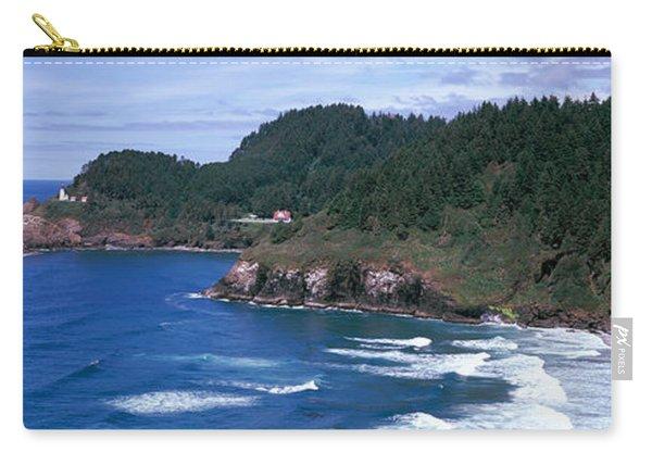 Lighthouse On The Coast, Heceta Head Carry-all Pouch