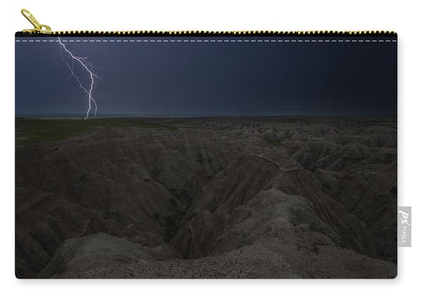 Lightning Crashes Carry-all Pouch