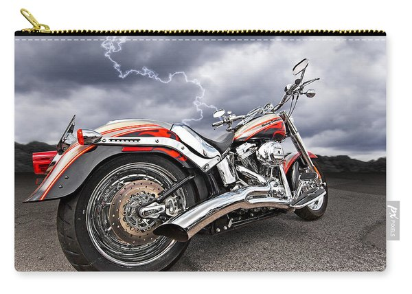 Lightning Fast - Screamin' Eagle Harley Carry-all Pouch