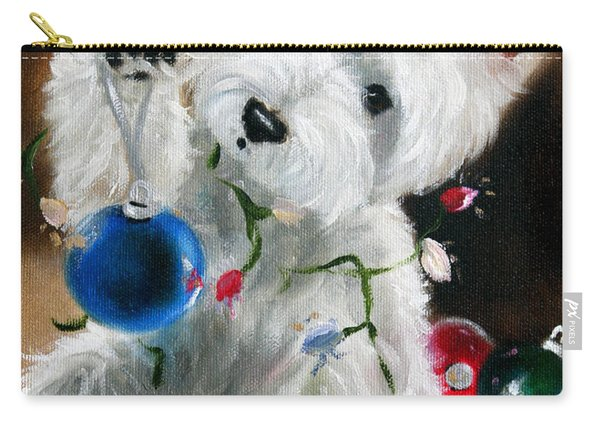 Lights And Balls Carry-all Pouch