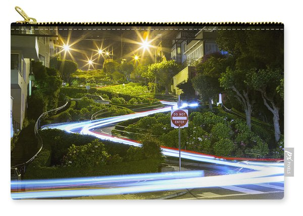 Lights On Lombard Carry-all Pouch